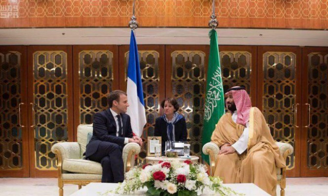 ماكرون وبن سلمان بحثا التوتر مع إيران واستقرار لبنان