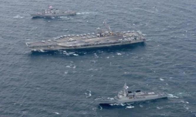 مناورات أميركية تستهدف كوريا الشمالية وكيم جونغ ينتقد ترامب