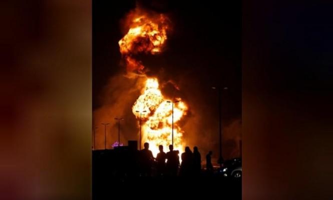 السعودية تعلق ضخ النفط إلى البحرين اثر انفجار بأنبوب