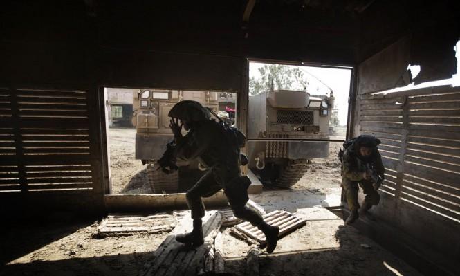 الاحتلال يبدأ الأحد مناورات بمنطقة غلاف غزة لأربعة أيام