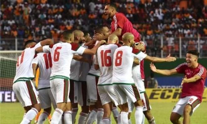 المغرب يتأهل إلى نهائيات كأس العالم 2018