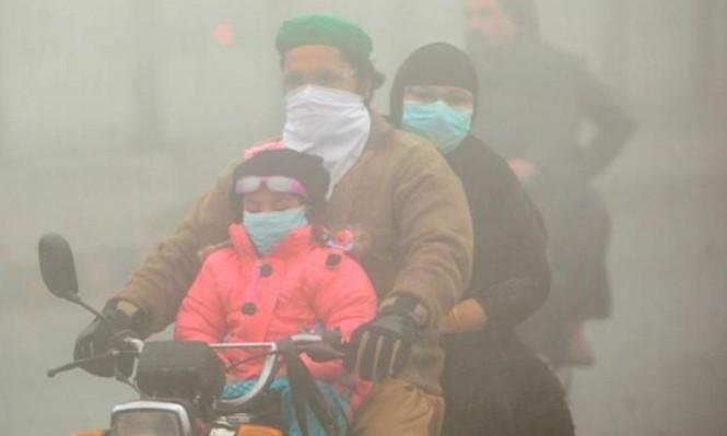باكستان: 15 ألف شخص يدخلون المستشفيات بسبب الضباب الدخاني