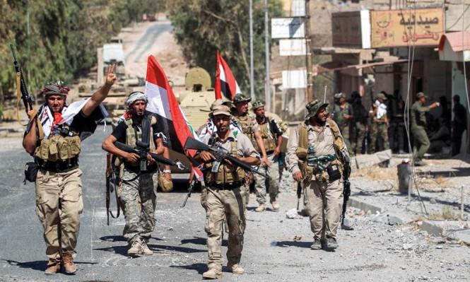 """القوات العراقية تشن هجوما على """"داعش"""" قرب سورية"""
