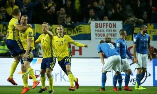 المنتخب السويدي يباغت نظيره الإيطالي بهدف نظيف