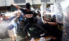 """الفلبين: هتفوا """"يسقط ترامب"""" فقُمعوا بمدافع المياه"""