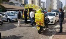 حيفا: إصابة عاملين بعد سقوط المصعد