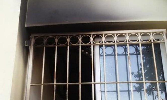أم الغنم: إخلاء مدرسة وإصابة شخص إثر حريق