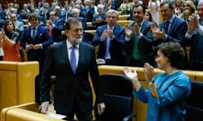 راخوي يزور كاتالونيا ليقدم مرشح حزبه لانتخابات الإقليم