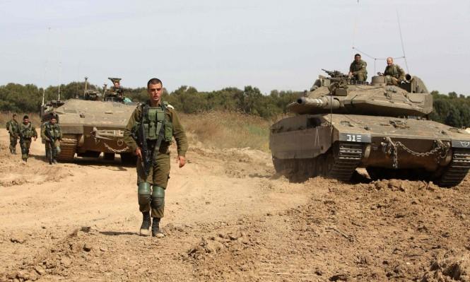 جيش الاحتلال يحشد قواته على حدود قطاع غزة