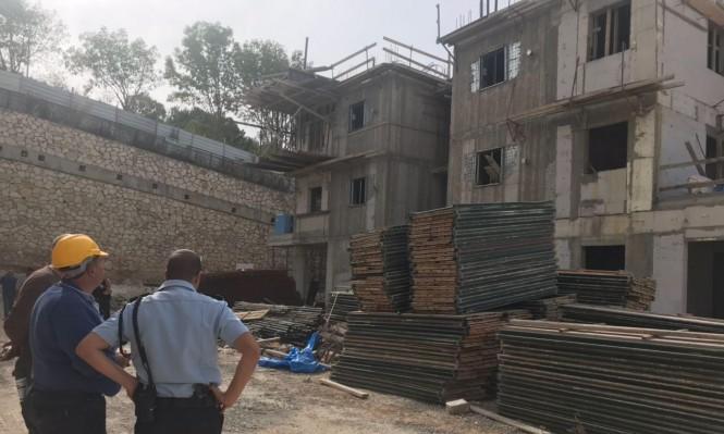 إصابة خطيرة لعامل من الناصرة سقط من علو في نتسيرت عيليت