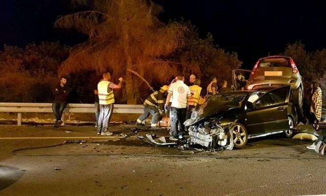المجتمع العربي الأكثر تعرضا لحوادث الطرق في البلاد