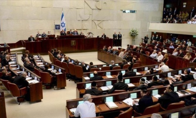 الكنيست يناقش قانون خصم مخصصات الأسرى وأسر الشهداء