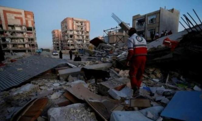 ارتفاع عدد قتلى الزلزال بإيران إلى 328