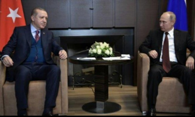 إردوغان وبوتين يدعوان لتكثيف جهود العملية السياسية في سورية