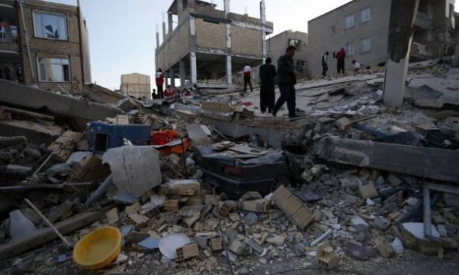 أثار الدمار جراء زلزال حلبجة