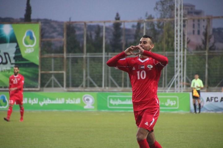 المنتخب الفلسطيني يكتسح جزر المالديف بثمانية لهدف