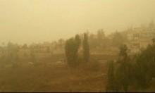 تلوث هواء شديد شمال البلاد إثر عاصفة رميلة