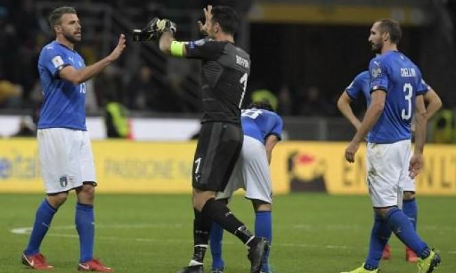 اعتزال 3 لاعبين بعد فشل إيطاليا بالتأهل للمونديال