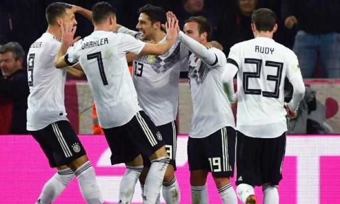 ألمانيا تتعادل أمام فرنسا بالوقت القاتل