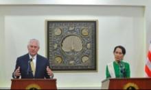 تيلرسون يعارض فرض عقوبات على بورما