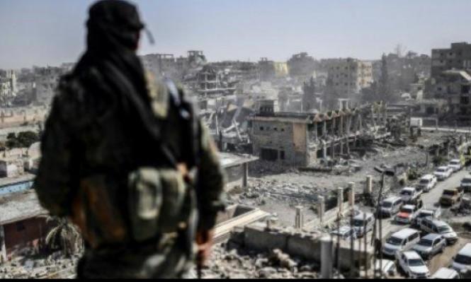 التحالف يقر بفرار مقاتلين أجانب من الرقة وسط المدنيين