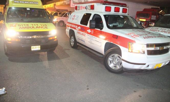 حيفا: مصرع مسن سقط عن درج