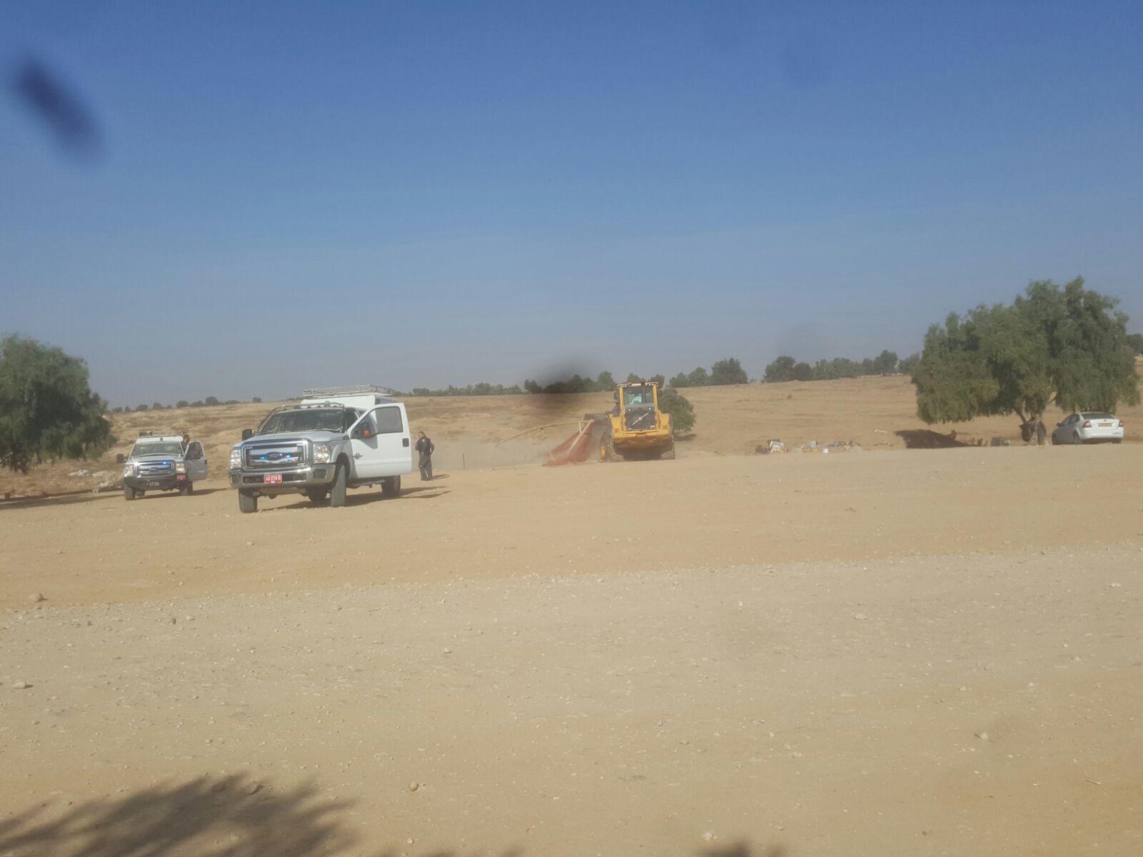 هدم قرية العراقيب بالنقب وتشريد العائلات للمرة 121