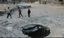سورية: قصف مستودع مساعدات غذائية في دوما المحاصرة