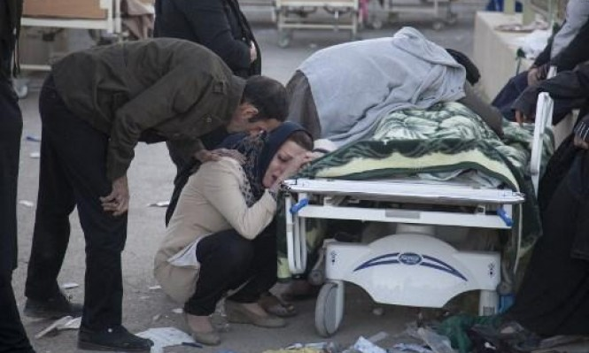 الحصيلة النهائية لزلزال إيران: 433 ضحية وآلاف الجرحى