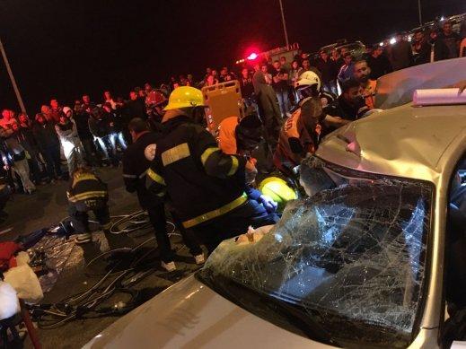 فاجعة في النقب: مصرع شابين في حادث طرق