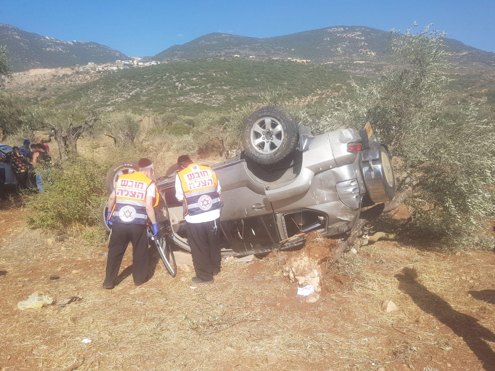8 إصابات في حادث طرق قرب المغار