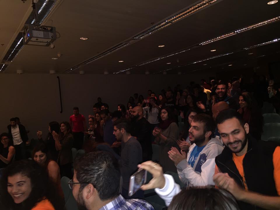 """التجمع الطلابي ينظم """"سوق عكاظ"""" في جامعة حيفا"""
