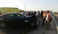 البحر الميت: مصرع شاب وإصابة 3 آخرين بحادث طرق