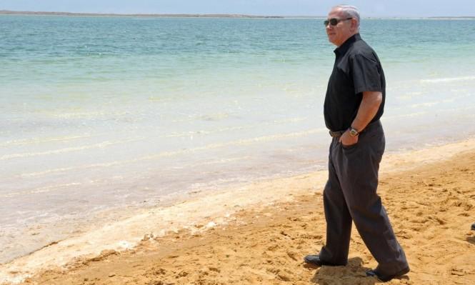 """ضغط أميركي يعرقل إعلان الاحتلال شواطئ البحر الميت """"أراضي دولة"""""""