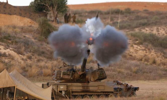 المدفعية الإسرائيلية تقصف موقعًا للجيش السوري