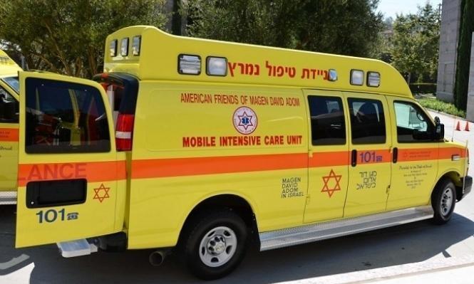 إصابة خطيرة لطفل سقط عن علو في كسيفة
