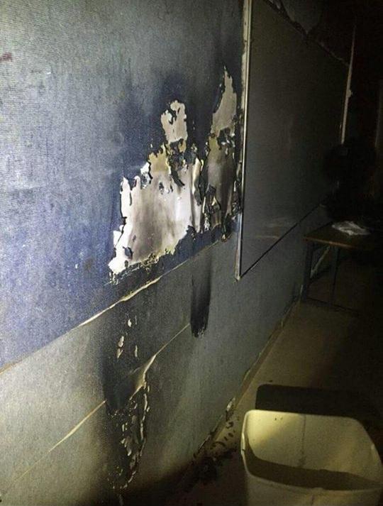 رهط: إحراق صفوف في مدرسة أبو عبيدة للمرة الثانية