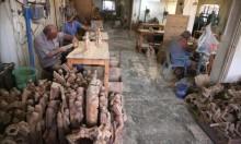 بيت لحم تتحضر بتحفها الخشبية لاستقبال أعياد الميلاد