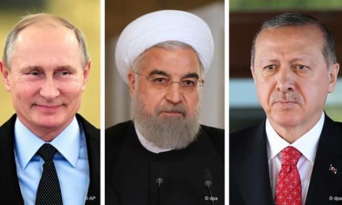 قلق إسرائيلي من حلف روسيا إيران وتركيا