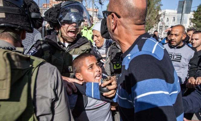 الاحتلال اعتقل 4 آلاف طفل منذ انتفاضة القدس