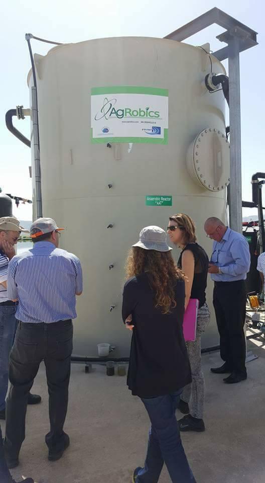 افتتاح تقنية أغروبكس لمعالجة المياه العادمة الخميس المقبل
