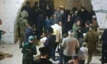 """المستوطنون يقتحمون """"قبر يوسف"""" والاحتلال يستنفر بنابلس"""