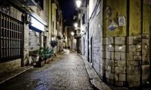 عملية سرقة على الطريقة الإيطالية خارج دور السينما