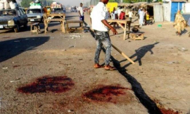 50 قتيلا على الأقل بتفجير مسجد في نيجيريا