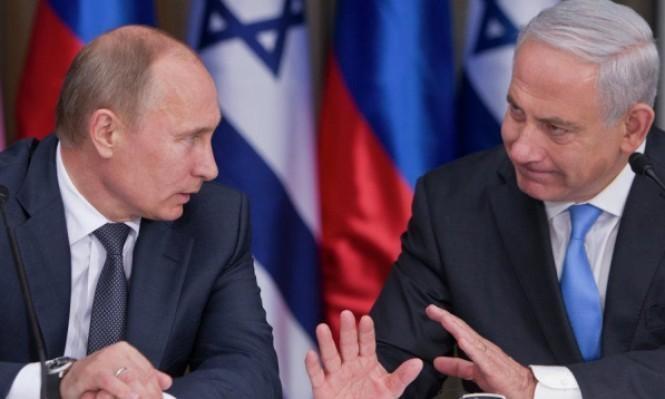 """""""بوتين يطلع نتنياهو على نتائج مباحثاته مع الأسد"""""""