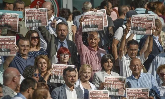 """تركيا: ثلاثة أعوام سجن لرئيس تحرير موقع """"جمهورييت"""""""