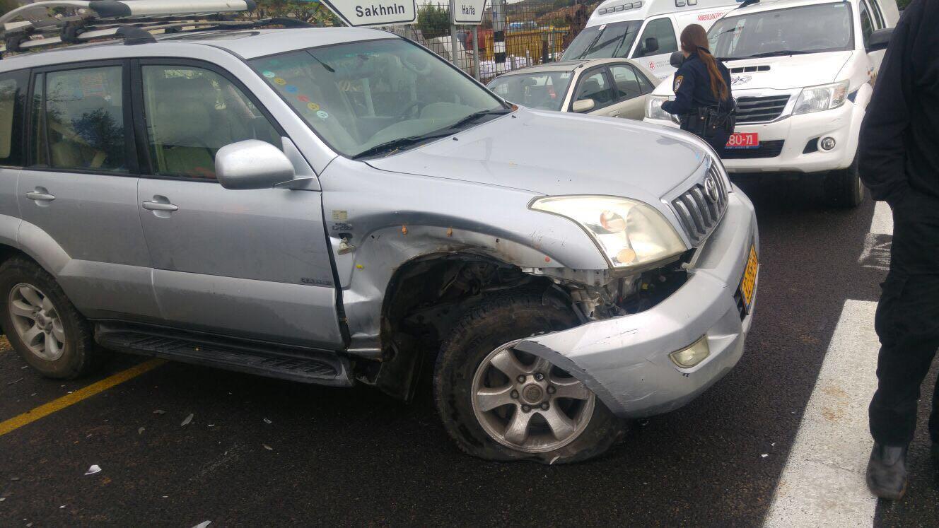 إصابتان في حادث طرق قرب طمرة