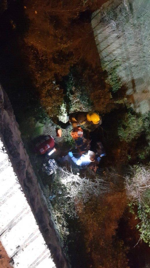 حيفا: إنقاذ شاب سقط من علو 6 أمتار