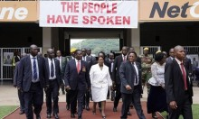 إمرسون منانغاغوا يؤدي اليمين رئيسا لزيمبابوي