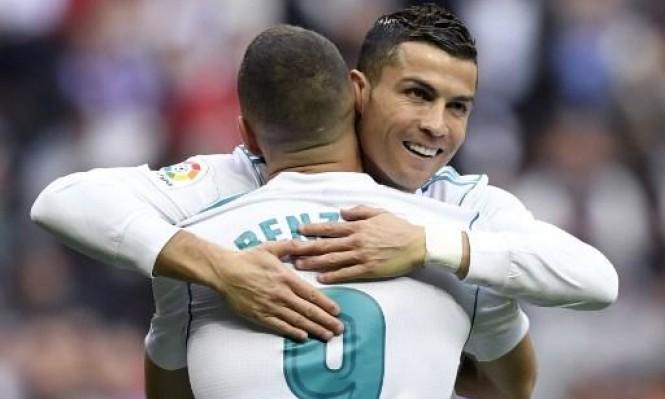 ريال مدريد يفوز بشق الأنفس على ملقا
